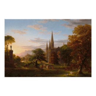 The Return by Thomas Cole Poster