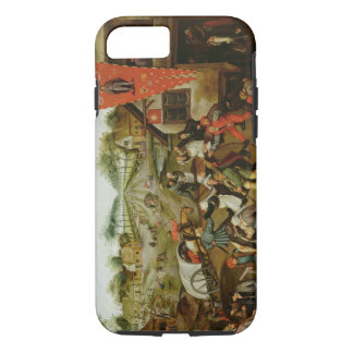 The Return from the Kermesse (oil on panel) iPhone 7 Case