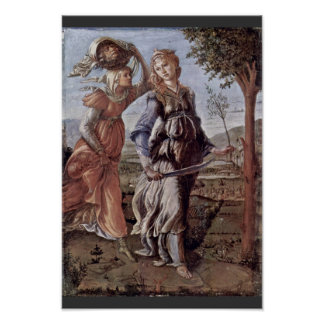 The Return Of Judith To Bethulia By Botticelli Poster
