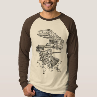 The Return of The Happy Camper Rolls On Tracks™ T-Shirt