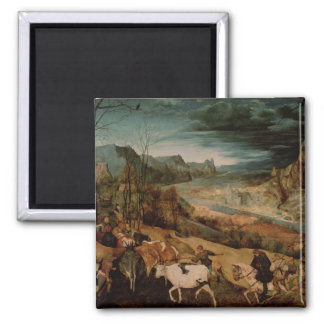 The Return of the Herd  1565 Square Magnet