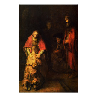 The Return of the Prodigal Son Print