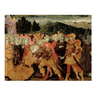 The Return of Ulysses, cassone panel, Sienese Postcard