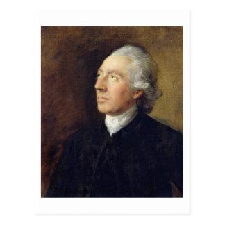 The Rev. Humphrey Gainsborough, c.1770-4 (oil on c Postcard
