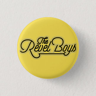The Revel Boys - Just Another Band Logo Button