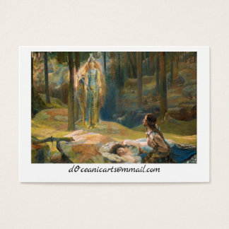 The Revelation Brunhilde Business Card
