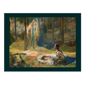 The Revelation Brunhilde Postcard