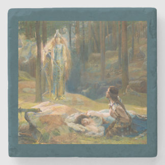 The Revelation Brunhilde Stone Coaster