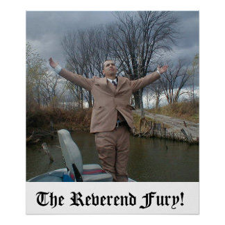 The Reverend Fury Poster