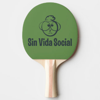 The reverse Gafotas Shovel impression to two faces Ping Pong Paddle