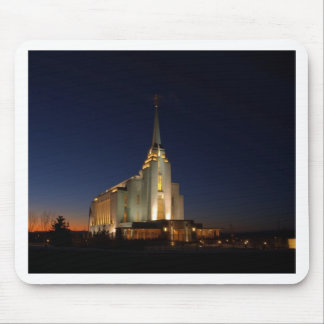 The Rexburg LDS Temple Mouse Pad