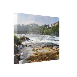 The Rhine Falls Canvas Print