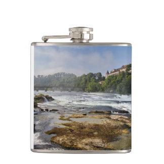 The Rhine Falls Hip Flask