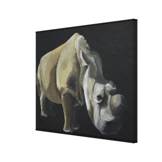 The Rhino Canvas Print