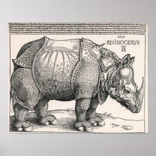 The Rhino Poster