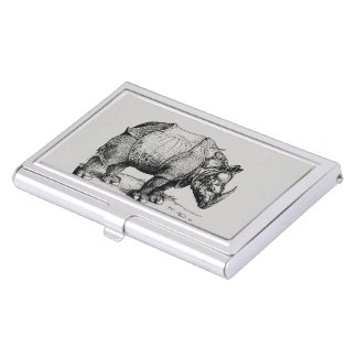 The Rhinoceros Business Card Holder