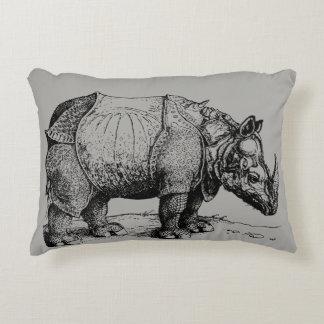 The Rhinoceros Decorative Pillow