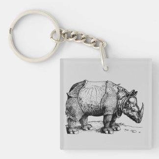The Rhinoceros Keychain