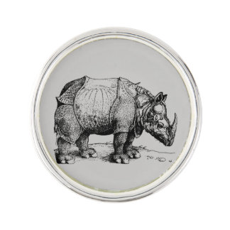 The Rhinoceros Lapel Pin