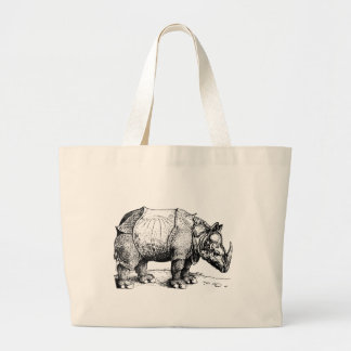 The Rhinoceros Large Tote Bag