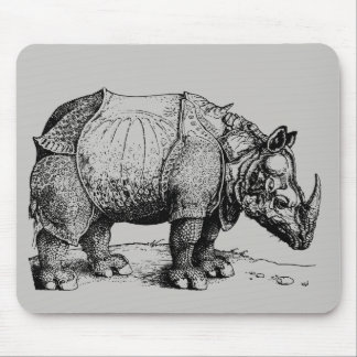 The Rhinoceros Mouse Pad