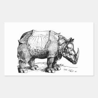 The Rhinoceros Sticker