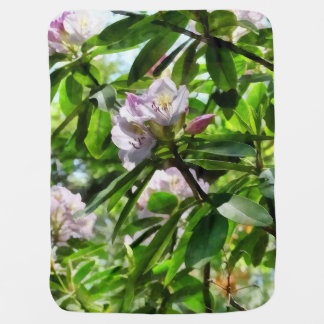 The Rhododendrons Are In Bloom Baby Blanket