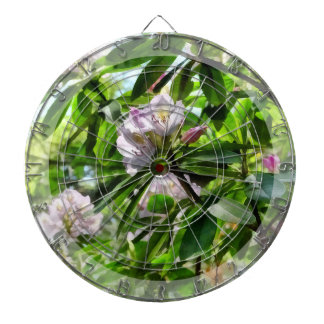The Rhododendrons Are In Bloom Dartboard