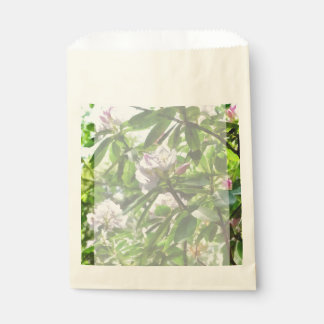 The Rhododendrons Are In Bloom Favour Bag