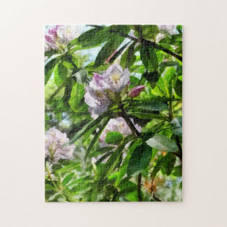 The Rhododendrons Are In Bloom Jigsaw Puzzle