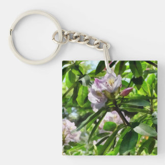 The Rhododendrons Are In Bloom Keychain
