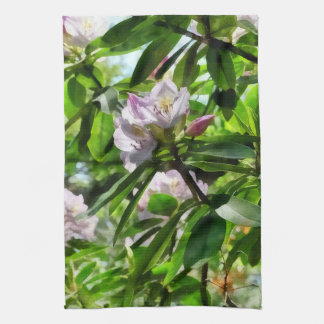 The Rhododendrons Are In Bloom Kitchen Towel