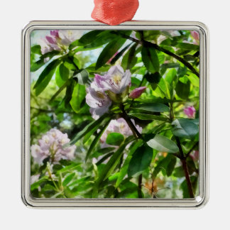 The Rhododendrons Are In Bloom Metal Ornament