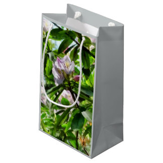The Rhododendrons Are In Bloom Small Gift Bag