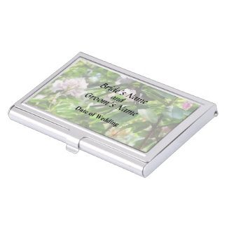 The Rhododendrons Are In Bloom Wedding Products Business Card Holder