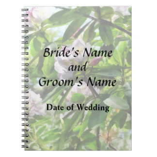The Rhododendrons Are In Bloom Wedding Products Notebooks