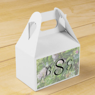 The Rhododendrons Are In Bloom Wedding Products Party Favor Boxes