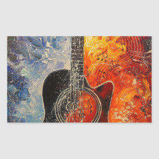 The rhythms of the guitar