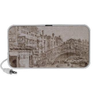 The Rialto Bridge, Venice Notebook Speaker