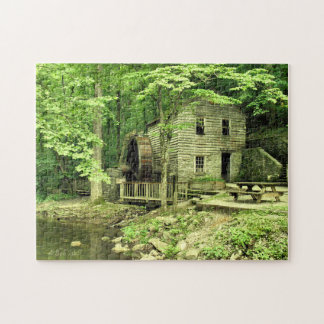 The Rice Grist Mill Jigsaw Puzzle