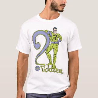 The Riddler & Logo Green T-Shirt