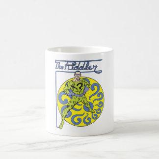 The Riddler & Logo Purple Coffee Mug