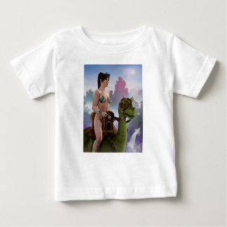 The Rider Approaches Baby T-Shirt