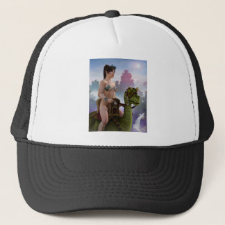 The Rider Approaches Trucker Hat