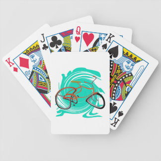 THE RIDERS WAY BICYCLE PLAYING CARDS