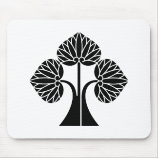 The right it leaves and stands the mallow mouse pad