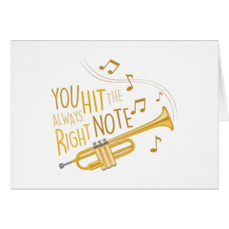 The Right Note Card