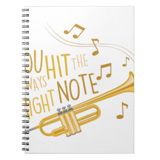 The Right Note Note Book