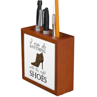 The Right Shoes Custom Color Desk Organizer