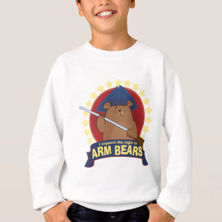 The Right to Arm Bears. Sweatshirt